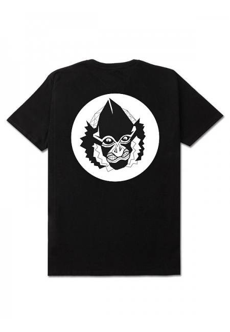 "T-shirt ""SP.ZOO"" - Black - Męski"