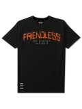 "T-shirt ""Friendless"" - Black - Męski"