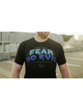 "T-shirt ""FEAR NO EVIL"" - Black - Męski"