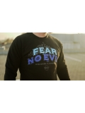 "Bluza ""FEAR NO EVIL"" - Black - Męska"