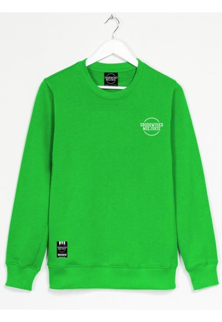 """Bluza """"Classic small"""" - Green - Męska"""