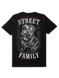 "T-shirt ""Skull"" - Black - Męski"
