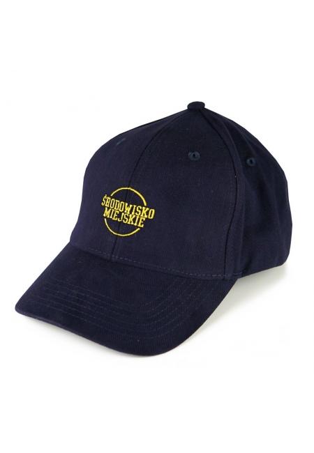 """Cap """"Classic"""" 6panels - Navy/Yellow  Środowisko Miejskie CAPS"""