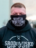 """Komin Wielofunkcyjny - """"SEKCJA SPORTOWA"""" - Black"""