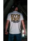 """T-shirt """"Środowisko Miejskie & DYM KNF"""" - White - Męski"""