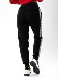 "Spodnie dresowe ""Lampas"" Black/White - Damskie"