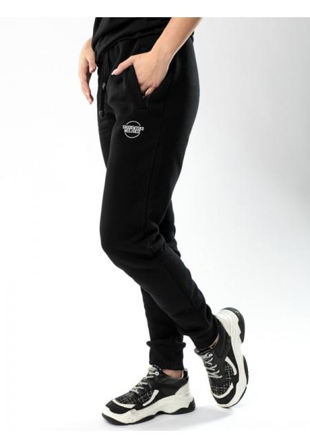 """Sweatpants """"Classic"""" Black/White - Women  Środowisko Miejskie SWEATPANTS"""