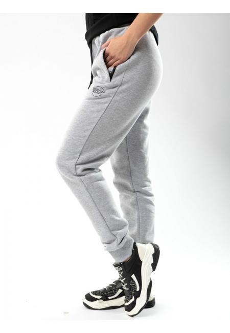 """Sweatpants """"Classic"""" Grey/Black - Women  Środowisko Miejskie SWEATPANTS"""