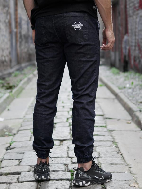 Pants Jeans Jogger Classic Icon Dark Blue/White  Środowisko Miejskie JOGGER