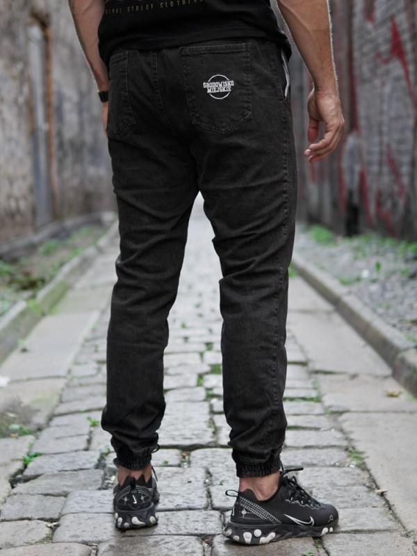 Pants Jeans Jogger Classic Icon Black/White  Środowisko Miejskie JOGGER